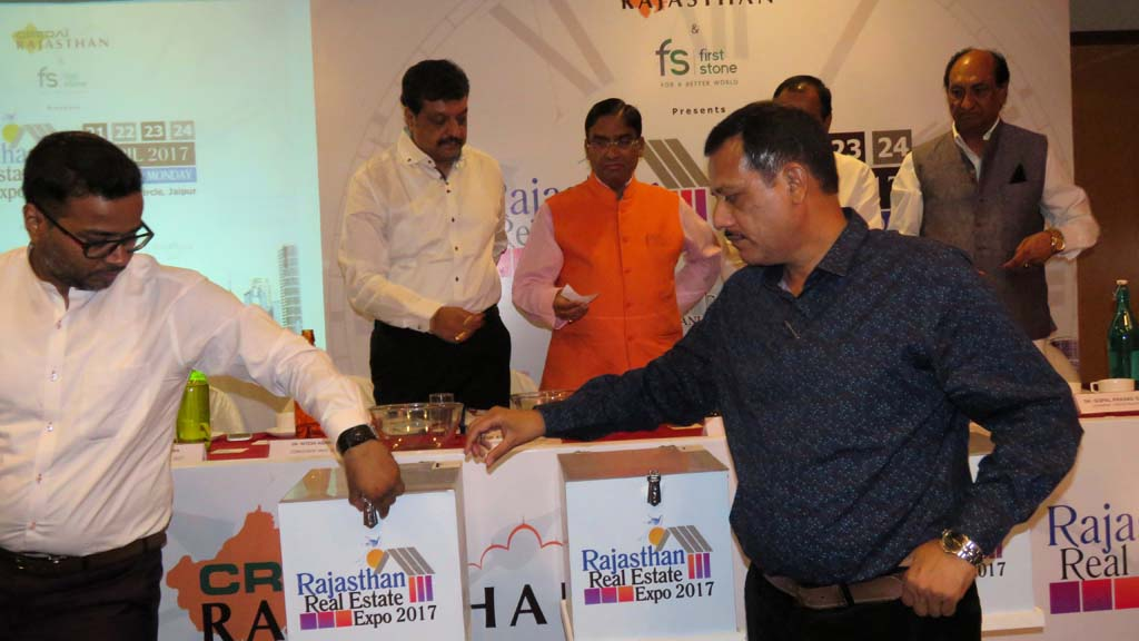 Rajasthan Real Estate Expo 2017 Stall Allotment