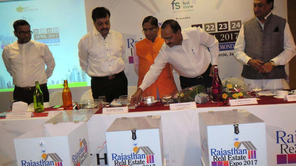 Rajasthan Real Estate Expo 2017 Stall Allotment at  Hotel Park Prime.