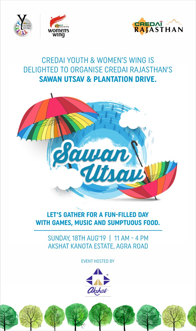 Saawan Utsav 2019 by Credai Youth and Women's Wing.
