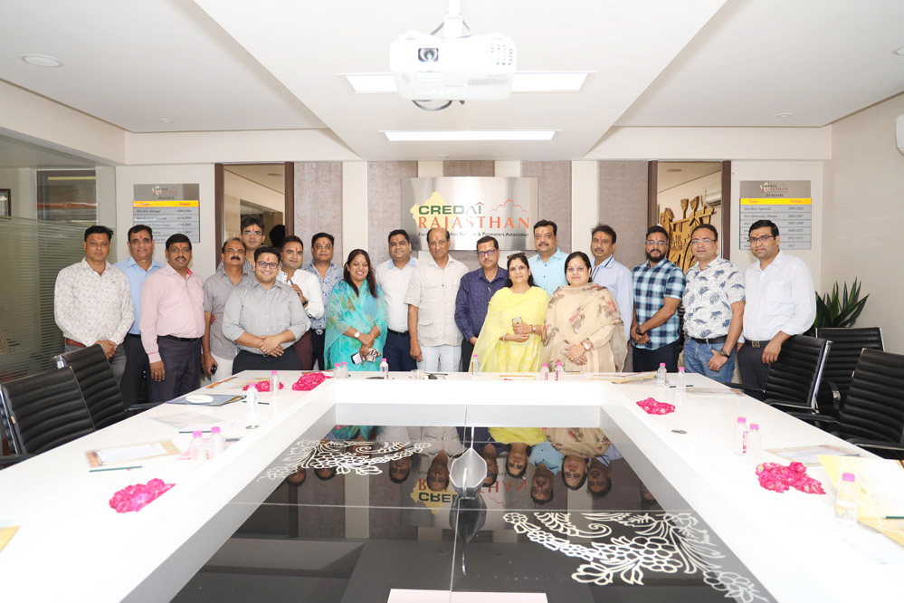 CREDAI Rajasthan's Annual General Meeting organized on 25th may 2019